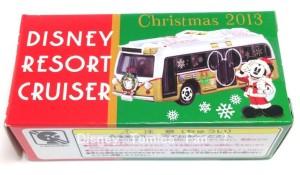 ディズニーリゾート限定2013クリスマスディズニートミカリゾートクルーザー1