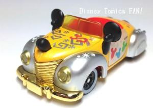 ディズニーリゾート限定2013年30thハピネスイヤーディズニートミカミッキーのロードスター1