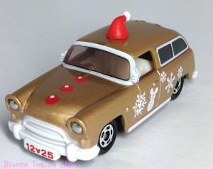 ディズニー2013クリスマストミカセブンイレブン限定ワゴンミッキー画像2