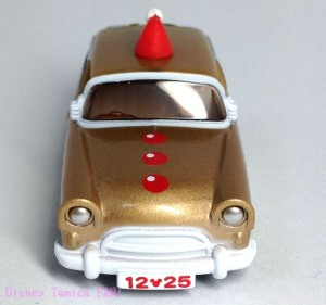 ディズニー2013クリスマストミカセブンイレブン限定ワゴンミッキー画像3