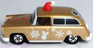 ディズニー2013クリスマストミカセブンイレブン限定ワゴンミッキー画像4