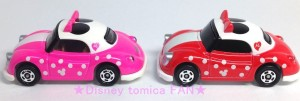 ディズニートミカ2014バレンタイン限定イオン限定スウィートカラーバージョンミニーポピンズ画像8