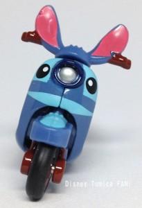 スティッチチムチムディズニーモーターストミカバイクスクーター画像2