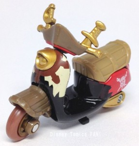 パイレーツオブカリビアン生命の泉チムチムディズニーモーターストミカバイクスクーター画像1