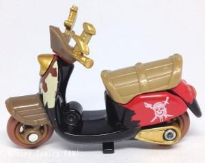 パイレーツオブカリビアン生命の泉チムチムディズニーモーターストミカバイクスクーター画像2