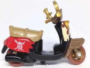 パイレーツオブカリビアン生命の泉チムチムディズニーモーターストミカバイクスクーター画像4