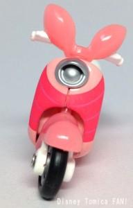 ピグレットチムチムディズニーモーターストミカバイクスクーター画像2