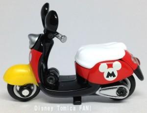 ミッキーチムチムディズニーモーターストミカバイクスクーター画像2