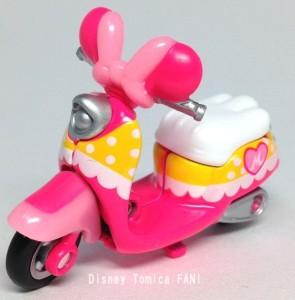 ミニーマウスチムチムディズニーモーターストミカバイクスクーター画像0