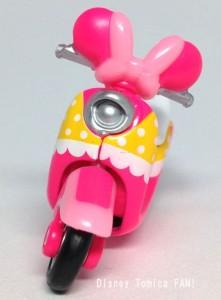 ミニーマウスチムチムディズニーモーターストミカバイクスクーター画像1