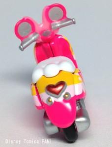 ミニーマウスチムチムディズニーモーターストミカバイクスクーター画像3