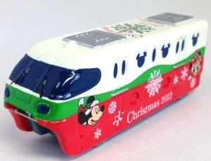 TDR限定トミカ リゾートライン クリスマス 画像トミカ2012年ver.1