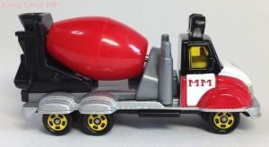 ディズニーモータースミキサー車DM-14画像トミカ5