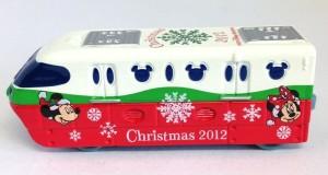 TDR限定トミカ リゾートライン クリスマス 画像トミカ2012年ver.3