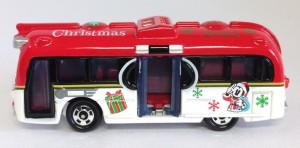 TDR限定トミカ ドリームクルーザークリスマス 2012年ver.画像ディズニーリゾート限定4