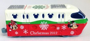 TDR限定トミカ リゾートライン クリスマス 画像トミカ2012年ver.5