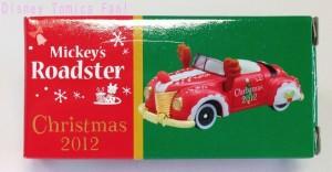 TDRディズニーリゾート限定ミッキーロードスタークリスマス2012画像