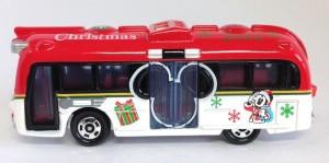 TDR限定トミカ ドリームクルーザークリスマス 2012年ver.画像ディズニーリゾート限定3