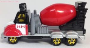 ディズニーモータースミキサー車DM-14画像トミカ3
