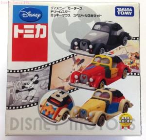 ディズニーモータースドリームスタースペシャル3台セット画像