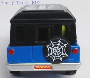 ディズニーモータースセブンイレブン限定ハロウィン2013年画像ウッディトミカ4