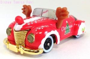 TDRディズニーリゾート限定ミッキーロードスタークリスマス2012画像1
