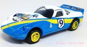 ディズニーモータースDM-17ドナルドスピードウェイスタートミカ画像1