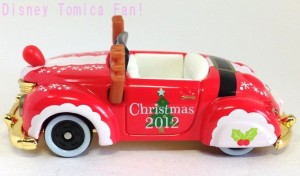 TDRディズニーリゾート限定ミッキーロードスタークリスマス2012画像3