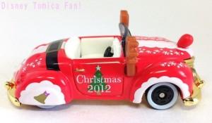 TDRディズニーリゾート限定ミッキーロードスタークリスマス2012画像5