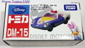 ディズニーモータースDM-15スピードウェイスターデイジーダック画像