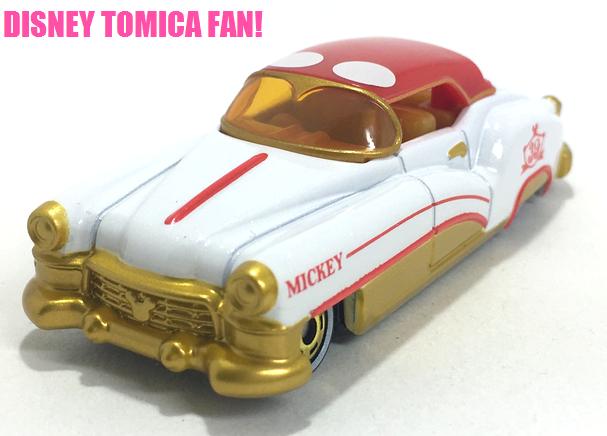 ≪レビュー≫トミカショップオリジナル ディズニーモータース ドリームスターII スペシャル39 ミッキーマウス