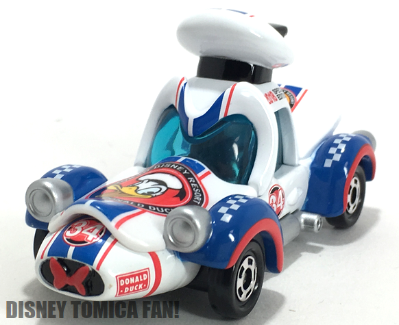 ≪レビュー≫ドナルドのレーシングカー トミカ 2018スペシャルエディション