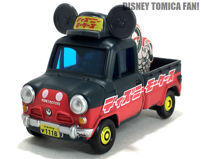 ≪レビュー≫トミカ ディズニーモータース DM-03 ソラッタ ミッキーマウス